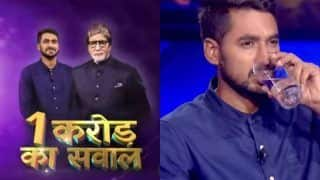 KBC 13 to Get Its Second Crorepati? Watch Contestant Pranshu Tripathi Answering Rs 1 Crore Question