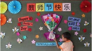 Teachers' Day 2021 Speech: 1 Minute Short Speech For Students in English