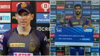 IPL 2021: Morgan Praises Iyer's Agressive Brand of Cricket