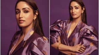 Yami Gautam Brings Back Blazer Dress in Fashion, Wears Her Rs 20K Outfit With Purple Fusion | See Pics