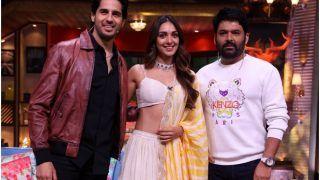 Sidharth Malhotra Reacts as Jealous Boyfriend After Kapil Sharma Flirted With Kiara Advani