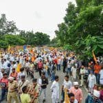 SAD Leads 'Black Day' March To Parliament to Mark a Year of Farmers Protest, Delhi Borders Sealed