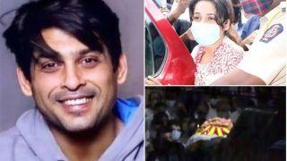 Sidharth Shukla Cremated: अपनी मां-बहनों को बिलखता छोड़ गए सिद्धार्थ शुक्ला, फफक पड़ी शहनाज़ गिल