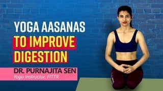 Yoga For Digestion: Struggling With Improper Digestion ? Follow These Yoga Poses, Watch Video