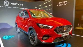 MG Astor Launch Date Announced, Expected To Be Priced Between Rs 9 Lakh & Rs 16 Lakh
