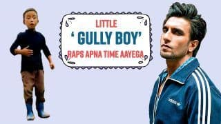 Little Boy Rapping to 'Apna Time Aayega' Will Make Your Day, Watch Video