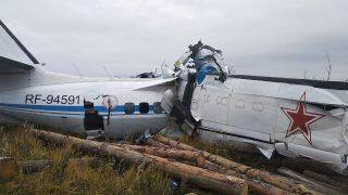 Russian Plane Crashes in Tatarstan Region, 15 Dead