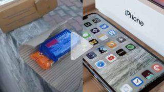 Video: Man Orders Apple iPhone 12 Worth Rs 53000 From Flipkart, Receives Nirma Soap Instead | Watch