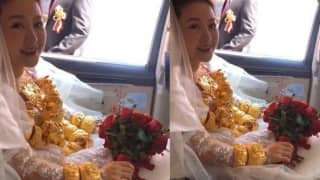 Bride Wears 60 Kg Gold Gifted by Husband on Wedding Day, Guests Left Stunned