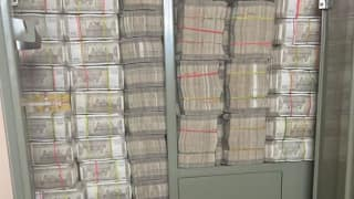 Cupboard Full of Currency Notes Discovered in Hyderabad, Money Worth Over Rs 142 Crore   See Image