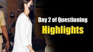 Ananya Panday Questioned by NCB in Drugs Case Related to Aryan Khan   Highlights From Day 2