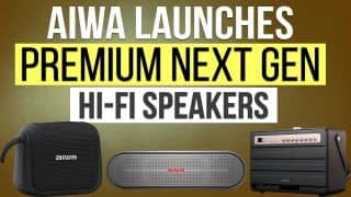 AIWA Launches Next Generation Hi-Fi Speakers In India : Price, Features and Specifications | Watch Video