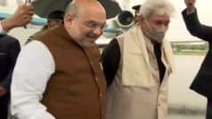 J&K Turns Into Fortress For Amit Shah's 3-Day Maiden Visit Post Abrogation of Art 370. A Look at His Full Schedule