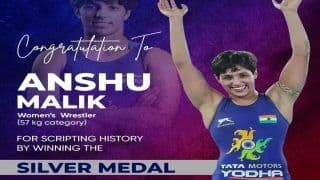 World Wrestling Championships: Anshu Malik Scripts History, Becomes First Indian Woman To Win Silver