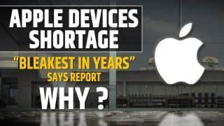 Apple iPhone 13 Series And Other Products Face Major Shortage, Watch Video To Find Out Why