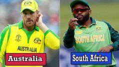 Live Cricket Score, Australia vs South Africa, ICC T20 World Cup 2021: ऑस्ट्रेलिया-साउथ अफ्रीका मैच से आज होने जा रही है सुपर-12 की शुरुआत