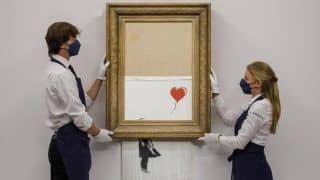 And Sold! British Artist Banksy's Shredded 'Love Is In The Bin' Artwork Auctioned For $25.4 Million