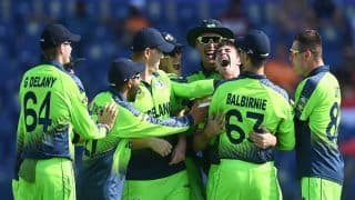 T20 World Cup: Curtis Campher Takes Double Hattrick vs Netherlands, Becomes Third Player To Take 4 Wickets in 4 Balls in T20Is | Watch Video