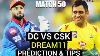 DC vs CSK Dream11 Team Prediction, Fantasy Cricket Hints VIVO IPL 2021 Match 50: Captain, Vice-Captain - Delhi Capitals vs Chennai Super Kings, Playing 11s, Injury News For Today's T20 Match at Dubai Stadium 7.30 PM IST October 4 Monday