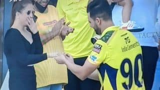 Video: Deepak Chahar Proposes his Partner After CSK vs PBKS Match   Watch