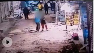 On Camera: Man Slits Woman's Throat in Crowded Delhi Market in Dwarka