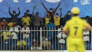 IPL 2021: MS Dhoni's Special Message For CSK Fans After Sealing Playoffs Berth in Sharjah   WATCH VIDEO