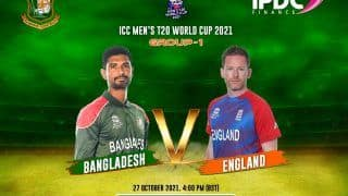 ENG vs BAN Dream11 Team Prediction ICC T20 World Cup 2021 Match 20: Captain, Fantasy Cricket Hints - England vs Bangladesh, Playing 11s, Team News For Today's Group 1 T20 Match at Sheikh Zayed Stadium at 7:30 PM IST October 27 Wednesday