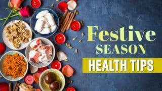 Health Tips : How To Stay Healthy During Festive Season, Watch Video
