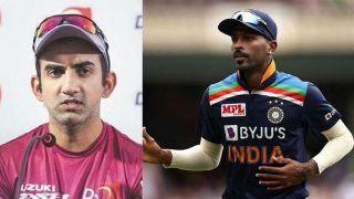 IPL 2021: Gautam Gambhir Questions BCCI Selectors Over Hardik Pandya's T20 World Cup Spot