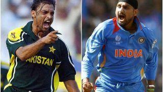 """""""Shoaib Akhtar हमारी टीम तुमको उड़ा देगी"""", हाईवोल्टेज मैच से पहले Harbhajan Singh ने शुरू की जुबानी जंग"""
