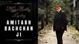 Happy Birthday Amitabh Bachchan : अमिताभ बच्चन ने मनाया अपना 79 वा जन्मदिन, फैंस ने बरसाया खूब प्यार और आशीर्वाद   वीडियो देखें