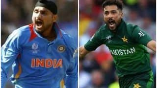 Harbhajan Singh-Mohammed Amir's Twitter War Gets Ugly After Pakistan Hammer India in T20 World Cup Game