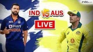 IND vs AUS MATCH HIGHLIGHTS T20 World Cup 2021 Warm up Match Cricket Updates: Rohit Sharma, Bowlers Star as India Crush Australia by 9 Wickets to Make it Two-in-Two