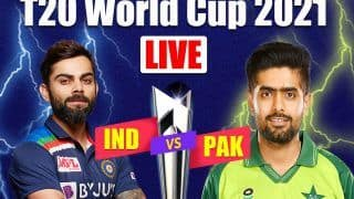 IND vs PAK MATCH HIGHLIGHTS T20 World Cup 2021, T20 Cricket Updates: Babar Azam, Mohammad Rizwan Slam Fifties; Pakistan Crush India by 10 Wickets in Super 12 Battle