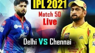 DC vs CSK MATCH HIGHLIGHTS Today, IPL 2021 Match 50 Cricket Updates: Shimron Hetmyer's Cameo Guides Delhi Capitals to 3-Wicket Win vs Chennai Super Kings, Claim Top Spot