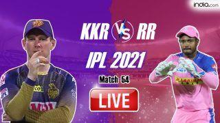 IPL 2021 MATCH HIGHLIGHTS, KKR vs RR Match 54 Today Cricket Updates: Shivam Mavi, Lockie Ferguson Star as Kolkata Knight Riders Crush Rajasthan Royals by 86 Runs to Take Step Closer to Playoffs