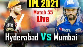 IPL 2021 MATCH HIGHLIGHTS TODAY SRH vs MI, Match 55 Cricket Updates: Mumbai Indians Fail to Qualify For Playoffs Despite 42-Run Win vs SunRisers Hyderabad