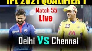 IPL 2021 MATCH HIGHLIGHTS DC vs CSK Today Qualifier 1 Cricket Updates: MS Dhoni's Cameo, Gaikwad-Uthappa Fifties Power Chennai Super Kings to 6-Wicket Win vs Delhi Capitals
