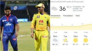 IPL 2021 DC vs CSK Head to Head, Prediction, Weather Forecast, Fantasy Playing Hints: Delhi Capitals vs Chennai Super Kings - Playing 11s, Pitch Report, Squads For Today's Match 50 at Dubai International Stadium