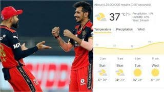IPL 2021 RCB vs PBKS Head to Head, Prediction, Fantasy Playing Hints, Weather Forecast: Royal Challengers Bangalore vs Punjab Kings - Playing 11s, Pitch Report, Squads For Today's Match 48 at Sharjah Cricket Stadium