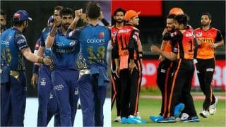 IPL 2021 SRH vs MI Head to Head, Scorecard, Fantasy Tips, Weather Forecast: Sunrisers Hyderabad vs Mumbai Indians - Probable Playing 11s, Prediction, Pitch Report, Squads For Match 55 at Sheikh Zayed Stadium