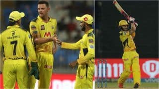 IPL 2021 Points Table Today Latest After SRH vs CSK, Match 44: Chennai Super Kings Become 1st Team to Qualify For Playoffs With Win Over Sunrisers Hyderabad; Faf du Plessis Claims 3rd Spot in Orange Cap Tally