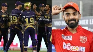 IPL 2021 Points Table Today Latest After Match 54: Kolkata Knight Riders Virtually Seal Last Playoff Spot With Win Over Rajasthan Royals; KL Rahul Extends Lead on Orange Cap List
