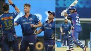 IPL 2021 Points Table Today Latest After RCB vs DC, Match 56: Mumbai Indians Knocked Out From Playoffs Race, Royal Challengers Bangalore Finish on 3rd Spot; Shikhar Dhawan Climbs to 3rd in IPL Orange Cap Tally