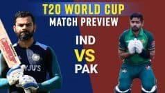 T20 World Cup 2021 India Vs Pakistan Match Preview: प्लेइंग 11, पिच रिपोर्ट और टेलीकास्ट जानकारी | शोएब अख्तर और मोहम्मद कैफ Exclusive Video