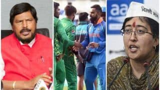India vs Pakistan, T20 WC: AAP Ministers Atishi Marlena, Ramdas Athawale Want Virat Kohli-Led Team India Opt-Out of Match After Kashmir Killings