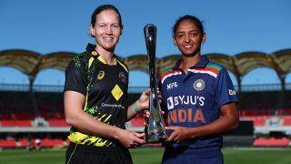 Highlights India Women vs Australia Women 1st T20I: Match Abandoned Due to Rain