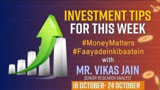 Weekly Stock Market Outlook,18th To 24th October : Here's Where You Can Invest This Week To Get More Profit, Watch Video
