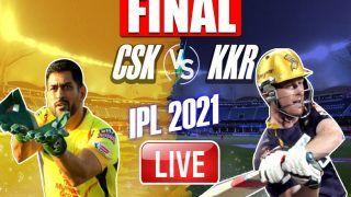CSK vs KKR IPL 2021 Final Match Highlights and Updates: Faf du Plessis, Shardul Thakur Shine as Chennai Super Kings Beat Kolkata Knight Riders to Lift Fourth IPL Trophy