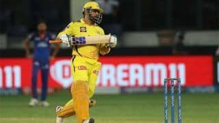 IPL 2021- अपनी मैच फिनिशिंग पारी पर बोले MS Dhoni- मैं बस गेंद को मारना चाहता था